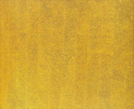 Yayoi Kusama - Infinity Nets Yellow